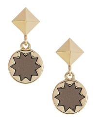 House of Harlow 1960 | Metallic Star Engraved Earrings | Lyst