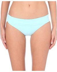 Melissa Odabash | Brussels Bikini Bottoms, Women's, Size: 10, Pale Blue | Lyst