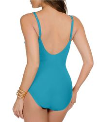 Miraclesuit | Blue New Sensations Captiva One-Piece Swimsuit | Lyst