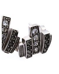 Ca&Lou | Metallic 'loulou' Earrings | Lyst