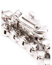 Eddie Borgo - Gray Bead Embellished Bracelet - Lyst