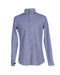 DSquared² | Blue Shirt for Men | Lyst