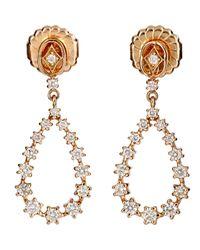 Sara Weinstock - Metallic Women's Petite Pear-shaped Drop Earrings - Lyst