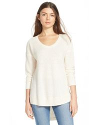 Madewell | Natural 'Ariel' Pullover | Lyst