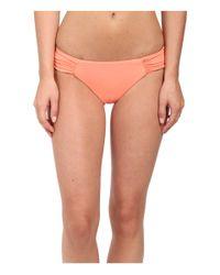 Roxy - Orange Base Girl Swim Bottoms - Lyst