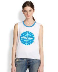 Chaser | White Pan Am Logo Tank | Lyst