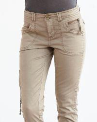 Marrakech | Natural Jessie Slim Utility Pant | Lyst