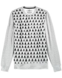 American Rag | Gray Men's Pyramid Graphic Sweater for Men | Lyst