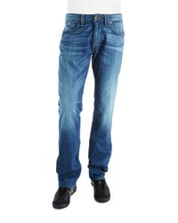 Guess | Blue Rhodes Regular Fit Jeans for Men | Lyst