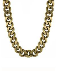 CC SKYE | Metallic The Streamliner Collar Necklace | Lyst