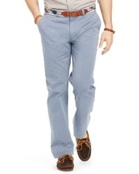 Ralph Lauren | Blue Polo Straight Fit Chino Pants for Men | Lyst