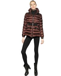 Moncler - Brown Talcy Matte Nylon Down Jacket - Lyst