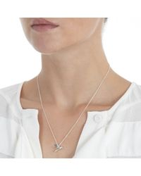 Alex Monroe - Metallic Hummingbird Necklace - Lyst
