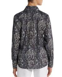 Robert Graham - Black Sensation Cotton Shirt - Lyst