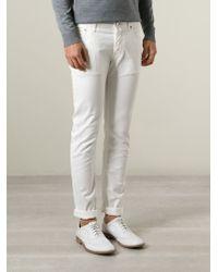 Jacob Cohen - White Skinny Jeans for Men - Lyst
