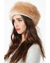 Nasty Gal - Natural Eugenia Kim Marion Hat - Lyst
