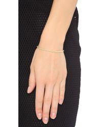 Shashi | Metallic Tennis Slide Bracelet | Lyst