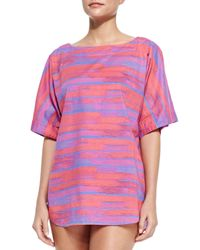 Marc By Marc Jacobs - Pink Jenny Cotton Cover-Up - Lyst
