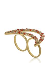 Carolina Bucci | Orange Smile Ring | Lyst