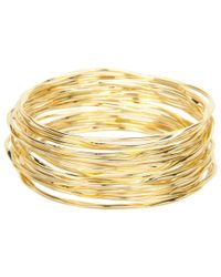 Lauren by Ralph Lauren | Metallic 20 Bangle Set | Lyst