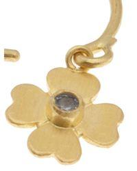 Marie-hélène De Taillac | Metallic Gold Flower Earring | Lyst