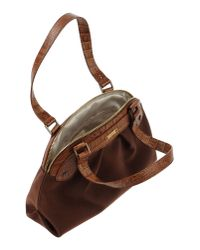 Vicini - Brown Handbag - Lyst