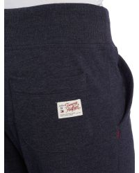 Tommy Hilfiger - Blue Cuffed Sweatpants for Men - Lyst