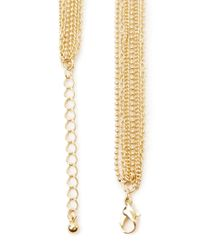 Forever 21 | Metallic Knotted Chain Necklace | Lyst