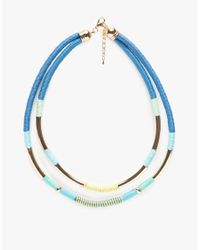 Need Supply Co. | Blue Rift Valley Necklace | Lyst