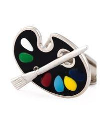 Paul Smith - Black Paint Pallet Cufflinks for Men - Lyst