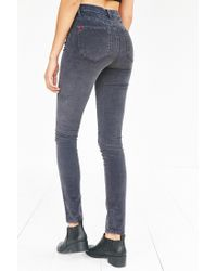 BDG | Gray Twig Corduroy High-rise Skinny Pant | Lyst