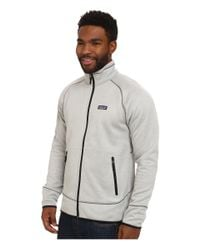 Patagonia | White Tech Fleece Jacket for Men | Lyst