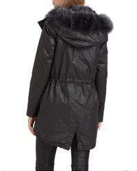 Sam. - Black Luxe Highline Parka - Lyst