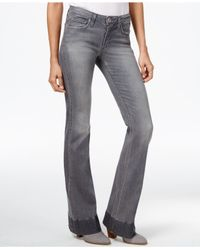 Joe's Jeans | Gray Joe's Flared Ashlie Wash Jeans | Lyst