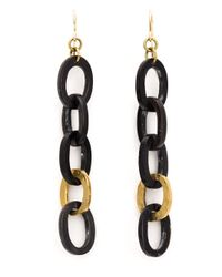 Ashley Pittman | Black 'mara' Earrings | Lyst