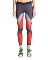 Ultracor | Red Sprinter Printed Leggings | Lyst