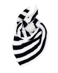 Wool And The Gang | Black Cast Off Scarf | Lyst