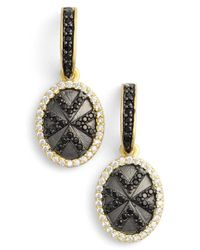 Freida Rothman - Metallic 'visionary' Geometric Drop Earrings - Lyst