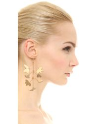Marc By Marc Jacobs | Metallic Wire Wildflower Earring Set - Oro | Lyst