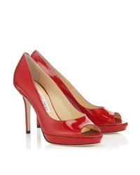 Jimmy Choo - Red Luna - Lyst