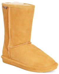 BEARPAW - Natural Emma Short Cold Weather Boots - Lyst