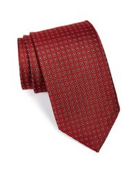 JZ Richards | Red Woven Silk Tie for Men | Lyst