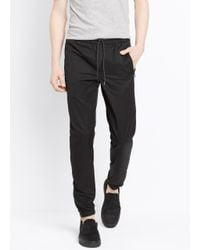 VINCE | Black Tech City Jogger for Men | Lyst