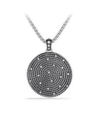 David Yurman | Metallic Albion Pendant With Black Onyx | Lyst