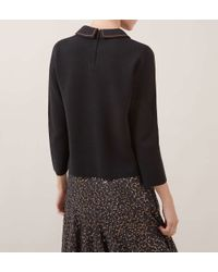 Hobbs - Black Pump Sweater - Lyst
