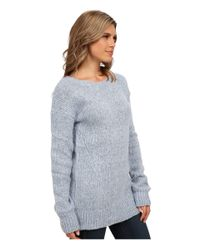 BB Dakota - Blue Colby Crew Neck Sweater - Lyst