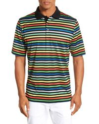 Bugatchi - Black Mercerized Cotton Polo for Men - Lyst