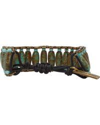 Isabel Marant - Green Pottery Beaded Bracelet - Lyst