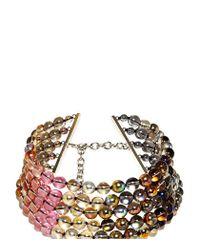 Jil Sander | Multicolor Candy Bead Choker | Lyst