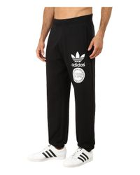 Adidas Originals | Black Street Graphic Sweatpants for Men | Lyst